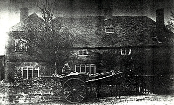 Manor Farmhouse before the fire of 1889 [Z849/3/1]